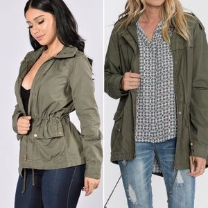 Ashley Outerwear Cargo Jacket